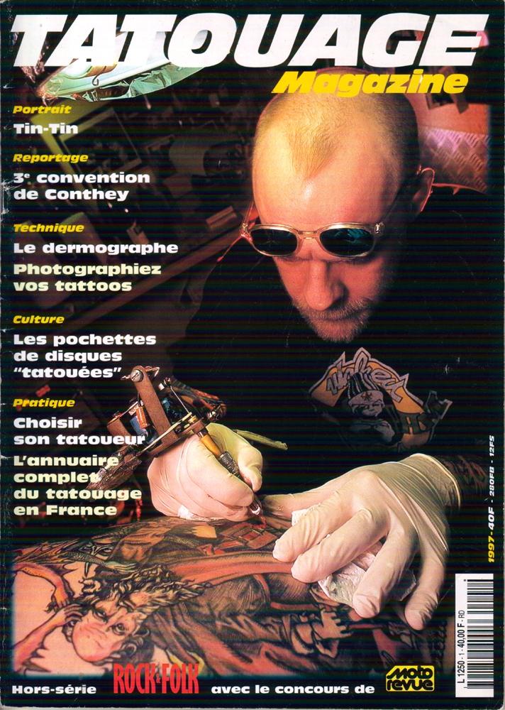 Tatouage Magazine 001