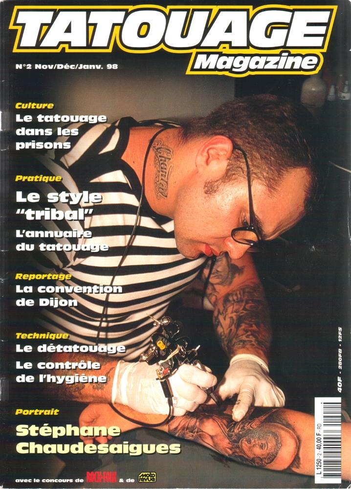 Tatouage Magazine 002