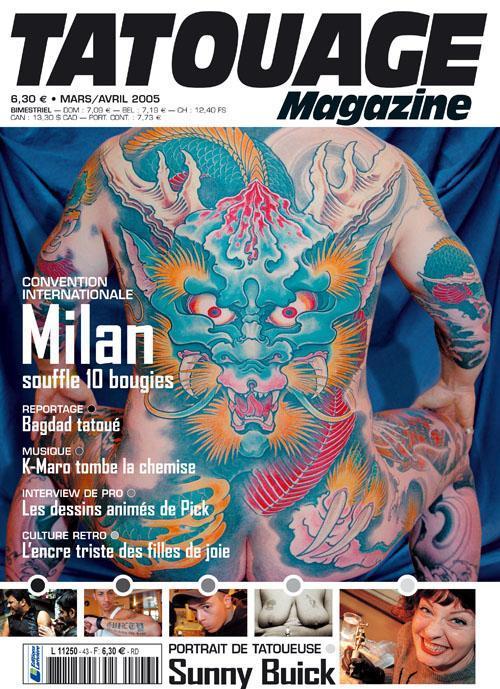 Tatouage Magazine 043
