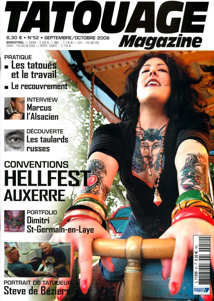 Tatouage Magazine 052