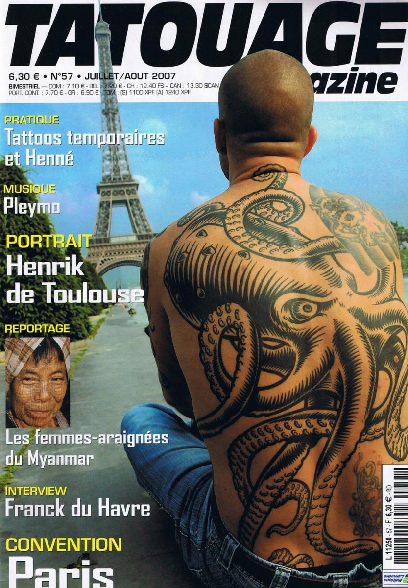 Tatouage Magazine 057