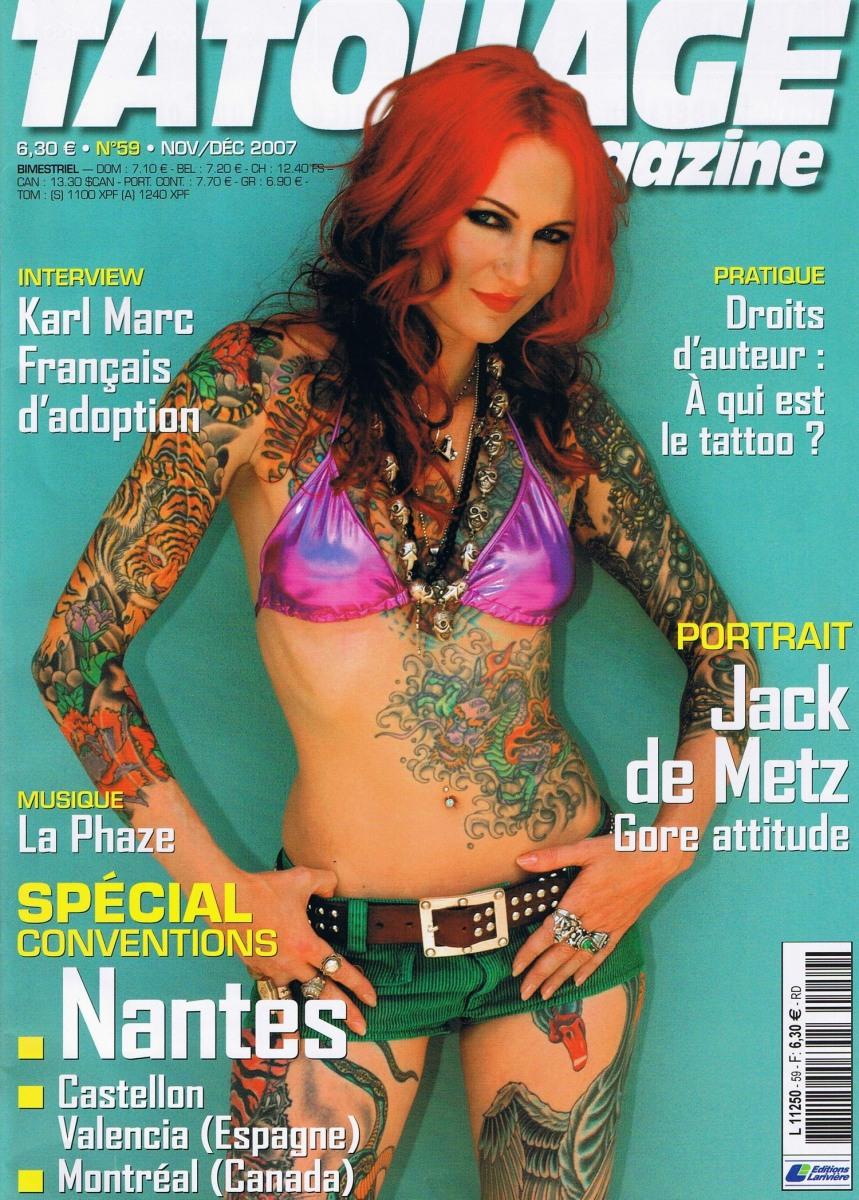 Tatouage Magazine 059