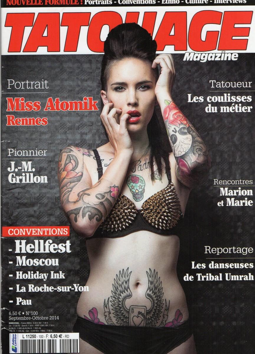 Tatouage Magazine 100