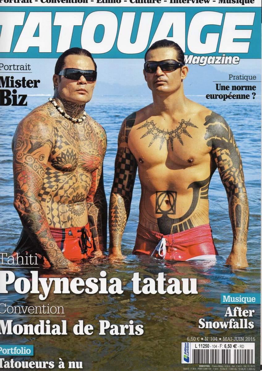 Tatouage Magazine 104