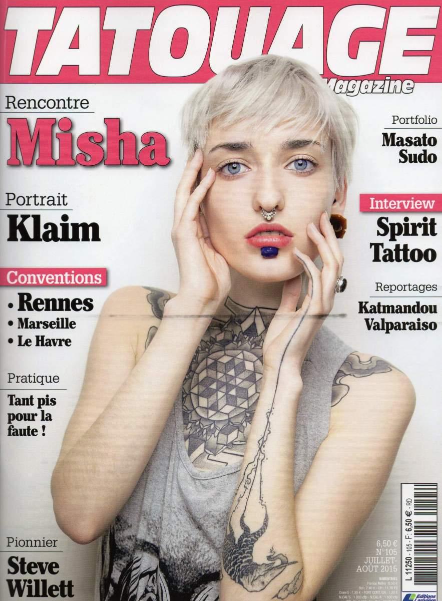 Tatouage Magazine 105