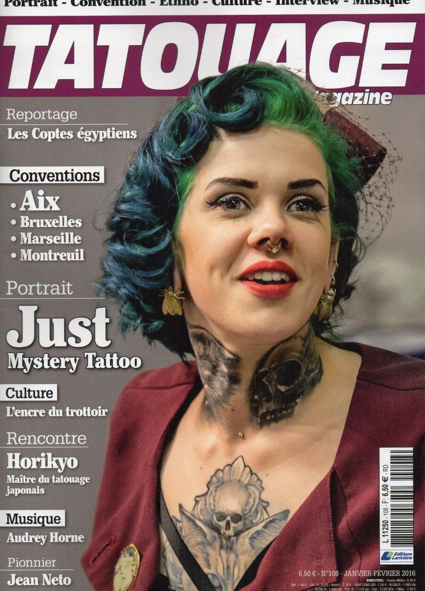 Tatouage Magazine 108