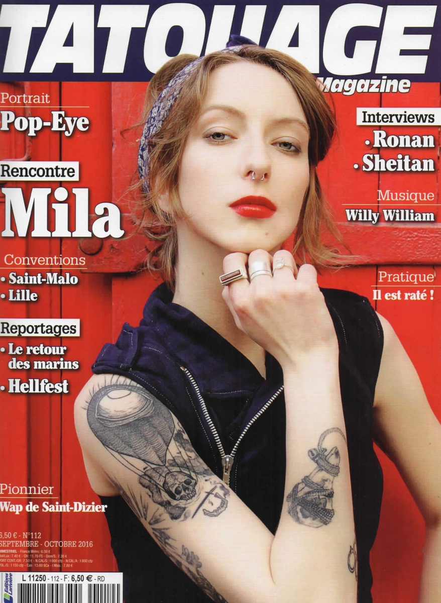 Tatouage Magazine 112