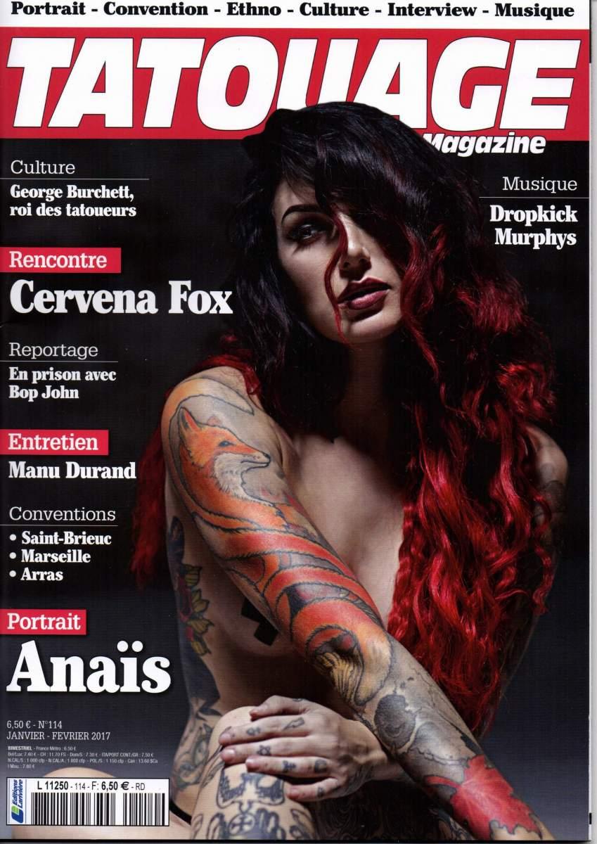 Tatouage Magazine 114
