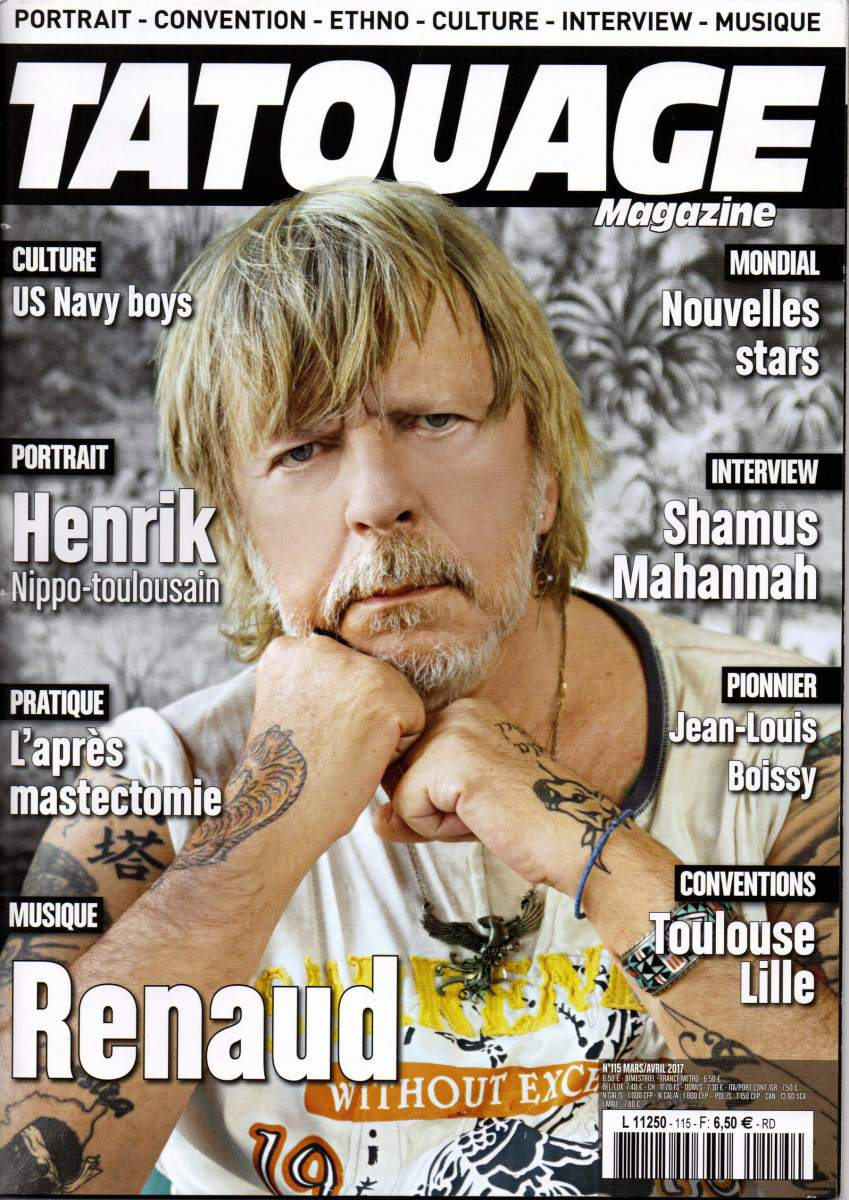 Tatouage Magazine 115